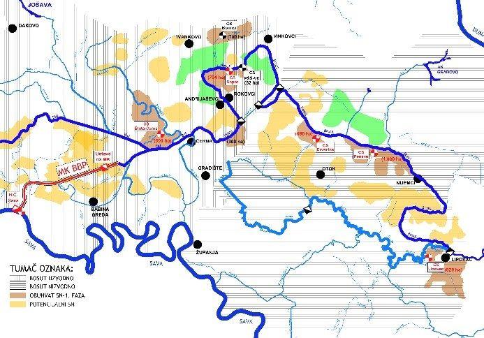 """Bosut """"rijeka bez izvora"""" napokon povezana s rijekom Savom"""