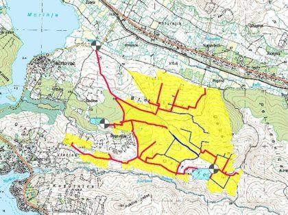 Pilot projekt navodnjavanja drvenastih kultura na osvojenim krškim površinama 2