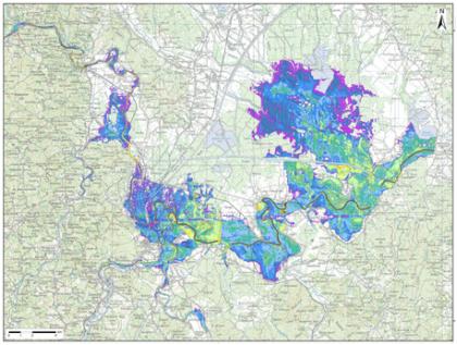 Rizik od poplava u gradu Karlovcu danas i sutra